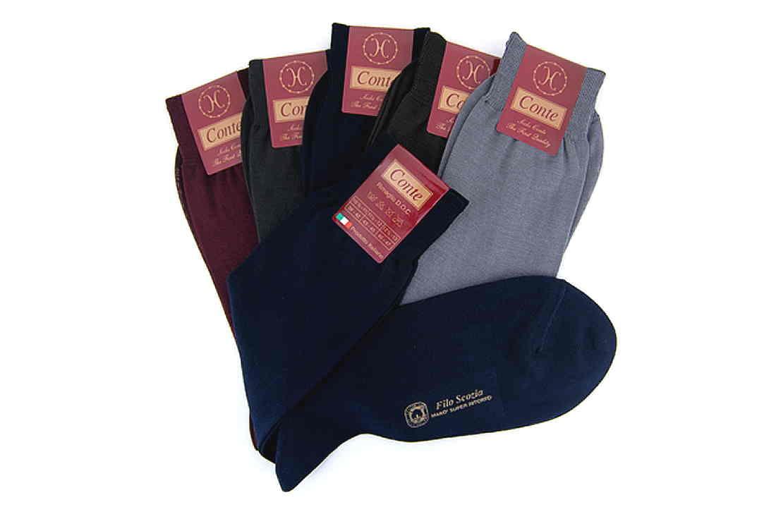 calze cotone filo di scozia colori francesi