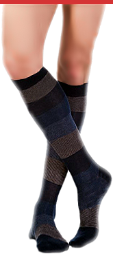 calze colorate strisce