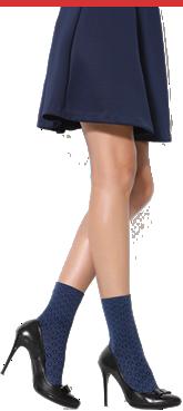 le calze alla moda da Donna